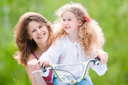 Ирина Грек с дочерью