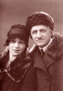 Супруги Соколовы: Владимир Петрович и Татьяна Александровна