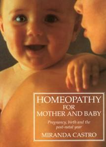 Гомеопатия для матери и ребенка, автор М. Кастро